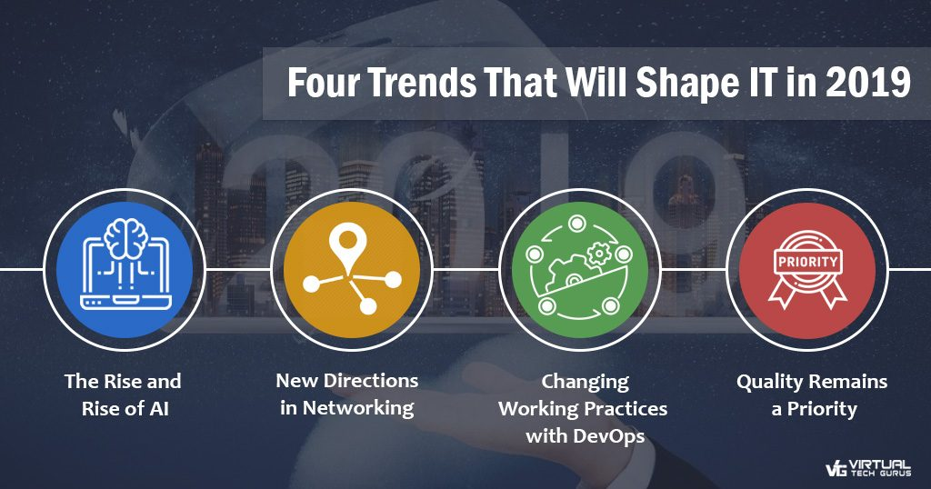 Four Trends That Will Shape IT in 2019