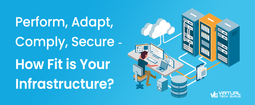 Perform, Adapt, Comply, Secure - How Fit is Your Infrastructure